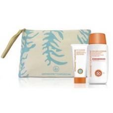 Suntan cream SPF 50 gift bag
